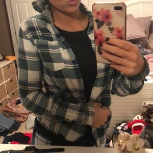 Tops - flannel top